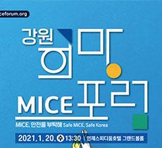 강원희망MICE포럼개최 관련사진
